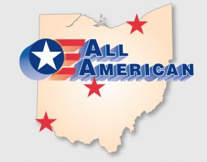 All American locations in Ohio